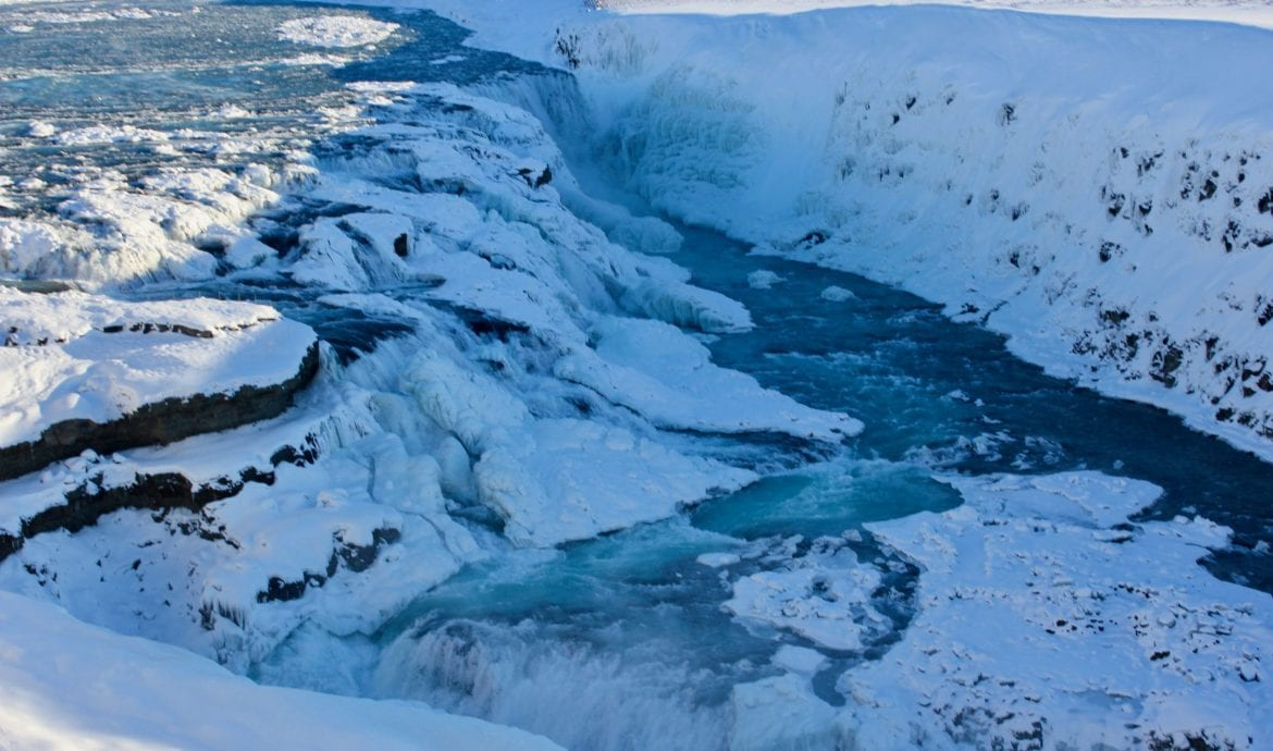 best time to see Gullfoss, Iceland